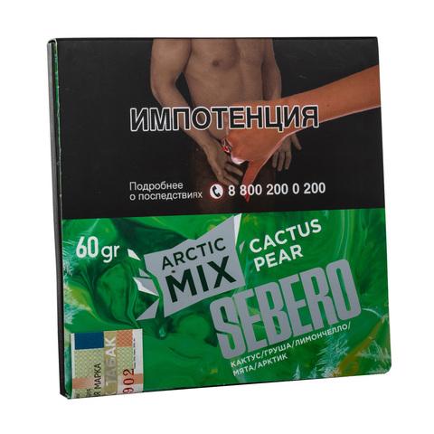 Табак Sebero Arctic Mix Cactus Pear (Кактус, Груша, Лимончелло, Мята, Арктик) 60 г