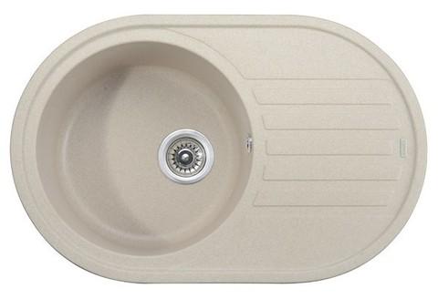Кухонная гранитная мойка Kaiser KGM-7750-S песочный