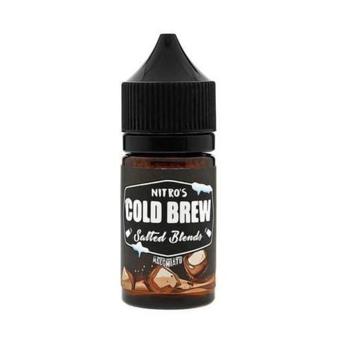Жидкость Nitro`s Cold Brew Salted Blends Salt 30 мл Macchiato