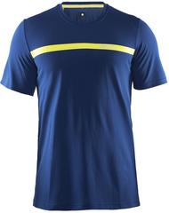 Элитная беговая футболка Craft Joy SS Shirt Blue мужская