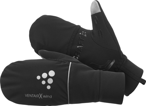 Перчатки Craft Hybrid Weather черные