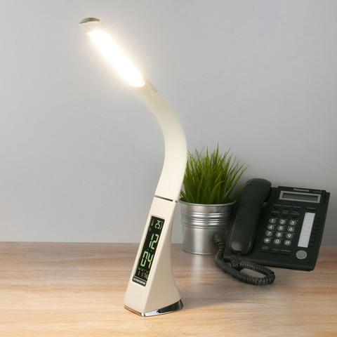 Настольный светодиодный светильник Elara бежевый TL90220