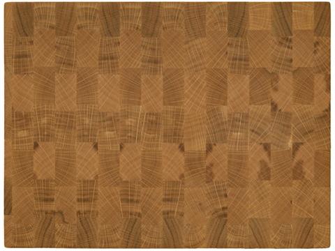 деревянная Торцевая разделочная доска 40х30х3 см дуб