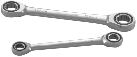 W681719 Ключ гаечный накидной трещоточный, 17х19 мм