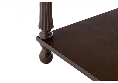 Стол деревянный кухонный, обеденный, для гостиной Журнальный Vivat oak 54*54*46 Oak