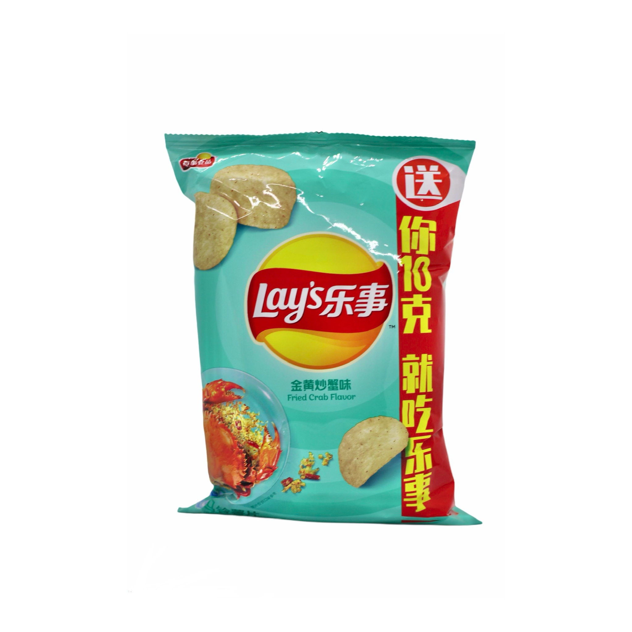 Чипсы Lay's fried crab flavor 70гр