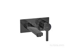 NAIA Смеситель для раковины скрытого монтажа (для установки с монтажным блоком A525220603), Titanium Black Roca 5A3596CN0 фото