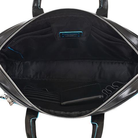 Сумка Piquadro Blue Square, черная, 29x39,5x7 см