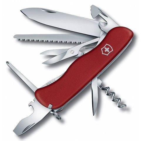 Нож перочинный Victorinox Outrider (0.8513) 111мм 14функций красный