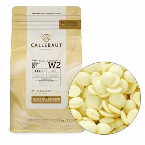 Белый шоколад Barry Callebaut 25,9%, Бельгия, 100г.