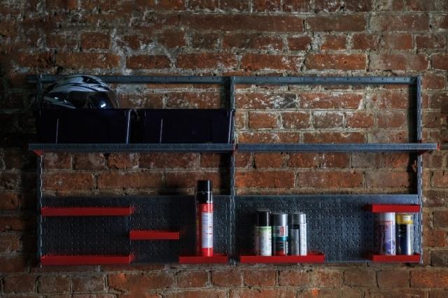 Набор №12 Стеллаж для гаража, перфопанели для инструментов
