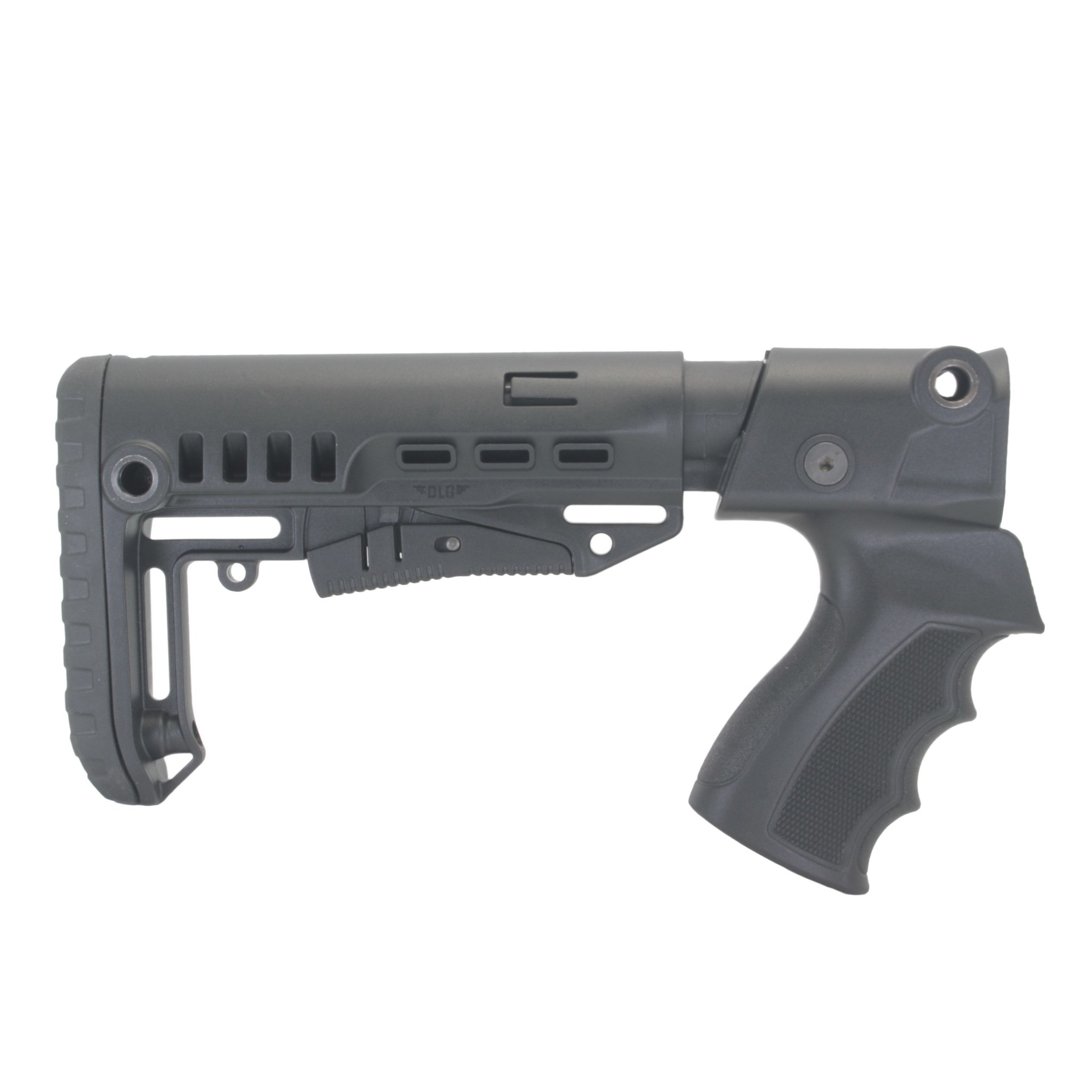 Купить Комплект: Пластиковый приклад МР-133, -153, DLG Tactical
