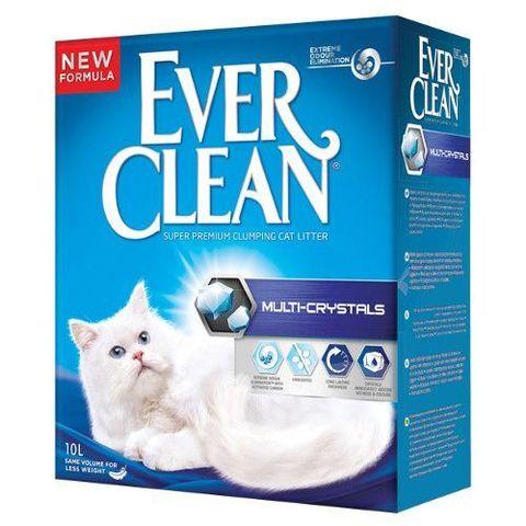 Ever Clean Multi Crystals комкующийся наполнитель с мультикристаллами д/кошек (6 л)