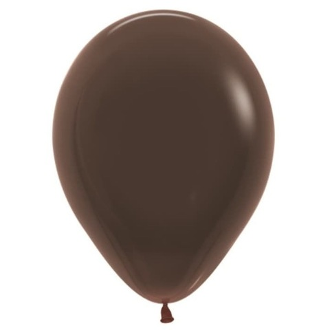Шар Коричневый, 30 см
