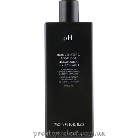 pH Laboratories Flower Rejuvenating Shampoo – Регенеруючий шампунь