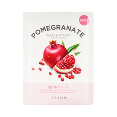 Укрепляющая тканевая маска с гранатом, IT'S SKIN, The Fresh Pomegrante Mask Sheet