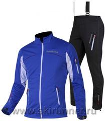 Элитный лыжный костюм Noname Flow in Motion 15 UX Blue с лямками