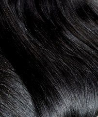 волосы на трессе черные