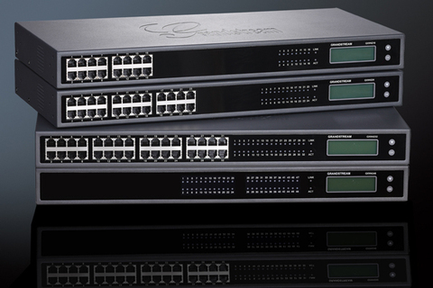 Grandstream GXW4224 - IP шлюз. 24xFXS, 1xLAN, (1GbE)Gigabit Ethernet