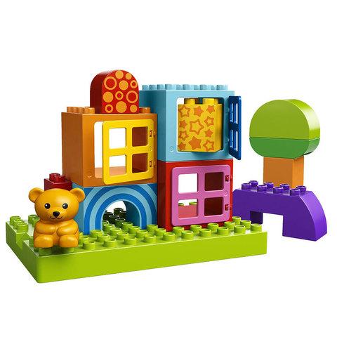 LEGO Duplo: Строительные блоки для игры малыша 10553 — Toddler Build and Play Cubes — Лего Дупло