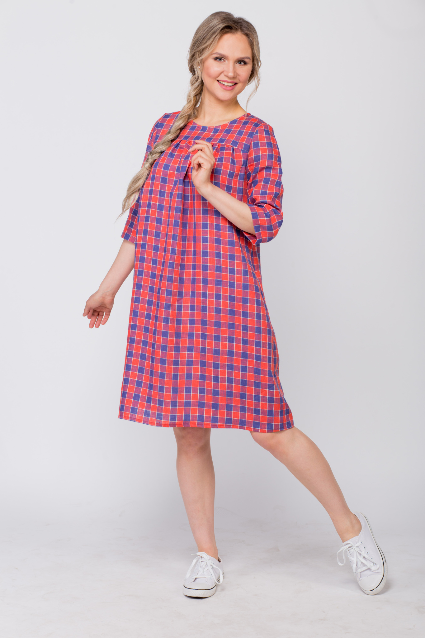 Платье льняное Хобби от Иванки