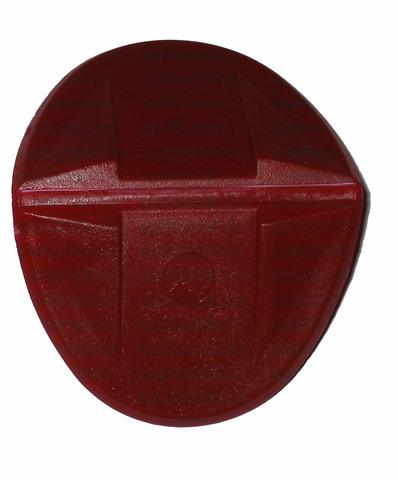 Уголок пластиковый овальный, до 19 мм