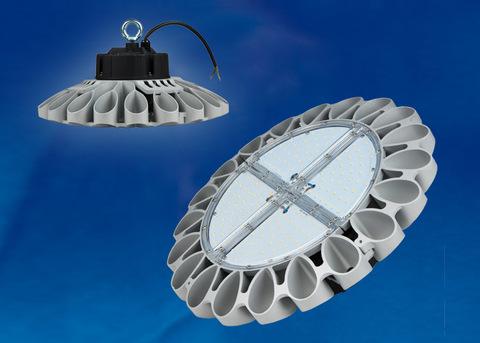 ULY-U30B-240W/DW IP65 SILVER Светильник светодиодный промышленный. Дневной белый свет (6500K). Угол 60 градусов. TM Uniel.