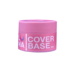 LUNA Cover BASE, PINK with SHIMMER розовая с шиммером #16 30 ml без кисти