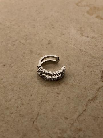 Кафф Кайя, серебряный цвет