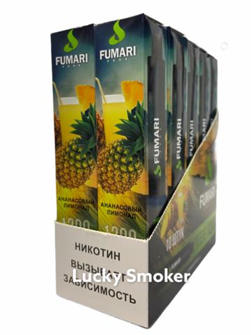 FUMARI (1200 затяжек) Ананасовый Лимонад