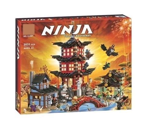 Конструктор Ninja 10427 Храм Аэроджитцу