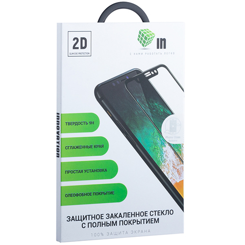 Стекло защитное Innovation 2D для Samsung Galaxy A30 (2019 г.) Черное