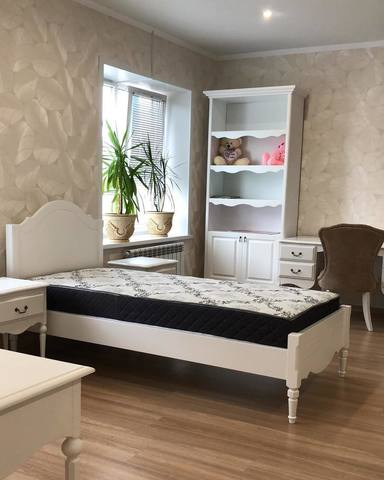 Деревянная кровать в стиле прованс фото