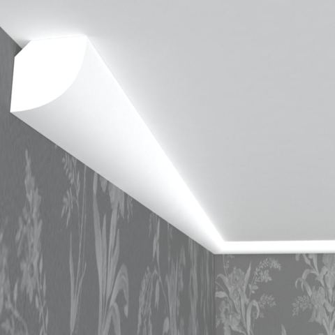 Плинтус потолочный из пенопласта.