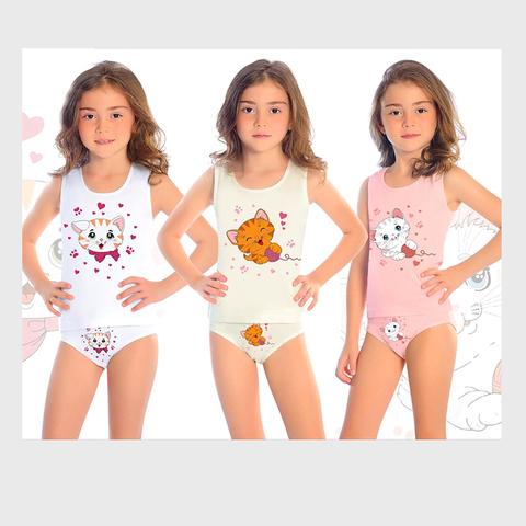 Комплект хлопок девочке (1-8) 200306-ОТ8590