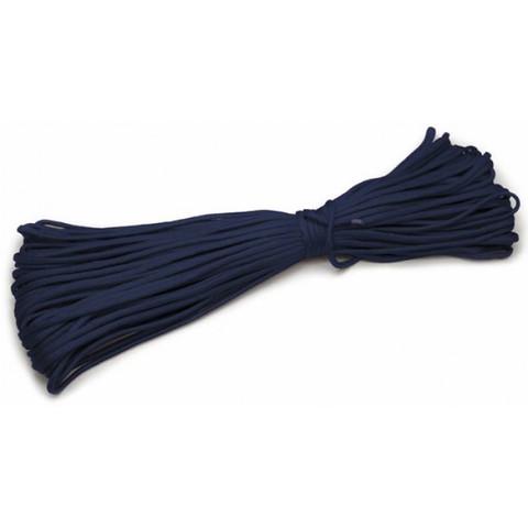 Шнур нейлоновый PC027 длина 30 м, диаметр 4.0 мм (тёмно-синий)