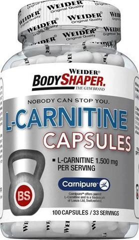 L- карнитин Weider L-Carnitine Capsules