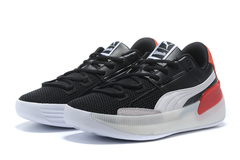 PUMA Clyde Hardwood 'Black/White/Red'