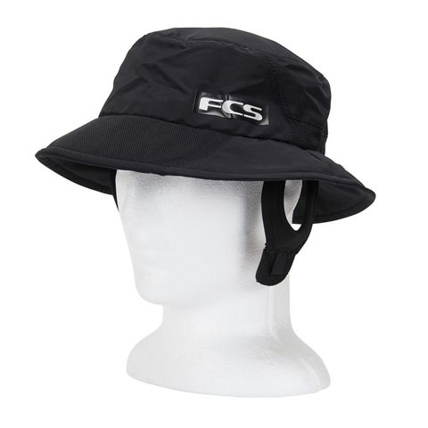 FCS Essential Surf Bucket Hat Black LG