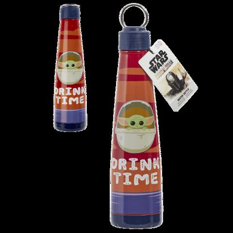 Бутылка металлическая Mandalorian: Metal Water Bottle:  The Child - Drink Time