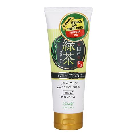 Пенка для умывания Cosmetex Roland с экстрактом зеленого чая 120 гр