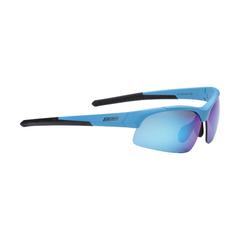 Очки спортивные BBB Impress Small  PC smoke blue lenses матовый синий
