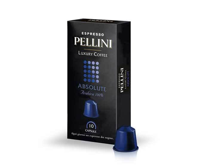 Кофе в капсулах Pellini Absolute, 10 капсул (Пеллини)