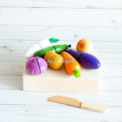 Овощи на липучках