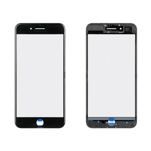 GLASS + Frame + OCA Orig 1:1 For Apple iPhone 7G Black MOQ:20