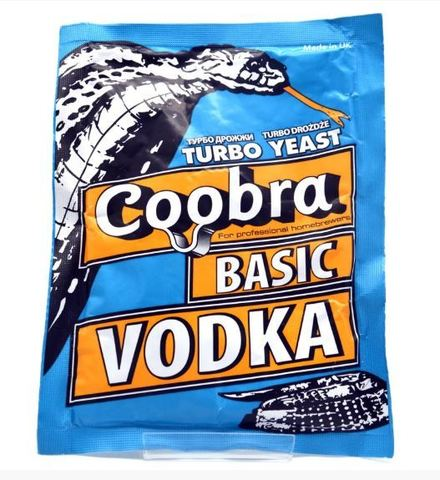 Дрожжи спиртовые Coobra Turbo Basic Vodka