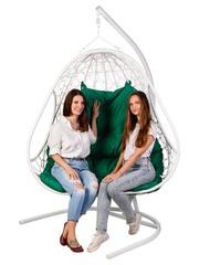 Подвесное кресло для двоих PRIMAVERA WHITE