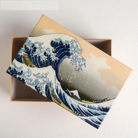 Коробка прямоугольная Хокусай, 24х15.5х9.5 см