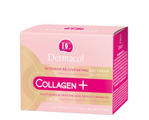 Dermacol Collagen + Intensive Омолаживающий дневной крем с высоким содержанием коллагена 35+, 50мл