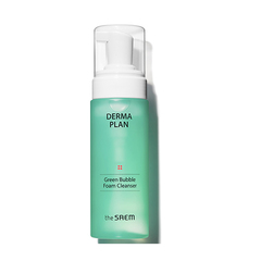 Очищающая пенка THE SAEM DERMA Plan Green Bubble Foam Cleanser 150ml